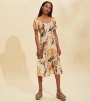 Odd Molly  - Positano Dress - GOLDEN BISCOTTI