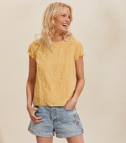 Odd Molly - Capri Blouse - GOLDEN BISCOTTI