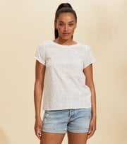 Odd Molly - Capri Bluse - LIGHT CHALK