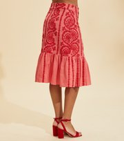 Odd Molly - Amalfi Skirt - SPICED CORAL