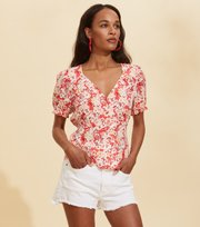 Odd Molly - Sorrento Blouse - SPICED CORAL