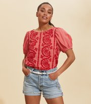 Odd Molly - Amalfi Blouse - SPICED CORAL