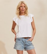 Odd Molly - Naples Topp - BRIGHT WHITE