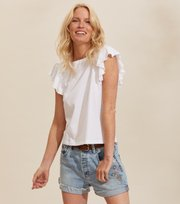 Odd Molly - Naples Top - BRIGHT WHITE