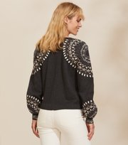 Odd Molly  - Stardust Cardigan - ALMOST BLACK