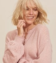 Odd Molly - Your Instinct Cardigan - BLUSH PINK