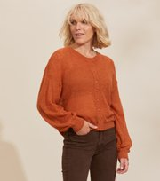 Odd Molly - Your Instinct Cardigan - BURNT CORAL