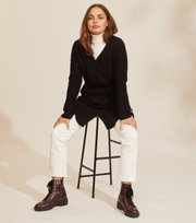 Odd Molly - Stay Magic Cardigan - ALMOST BLACK