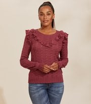Odd Molly - Fairy Fantasy Sweater - CALM ROSE