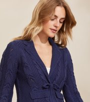 Odd Molly - Stay Grounded Blazer - STORMY BLUE