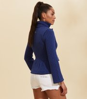 Odd Molly - Comfy All Around Cardigan - HORIZON BLUE