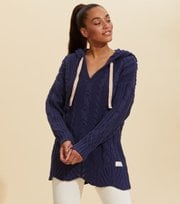 Odd Molly - Stay Grounded Sweater - STORMY BLUE
