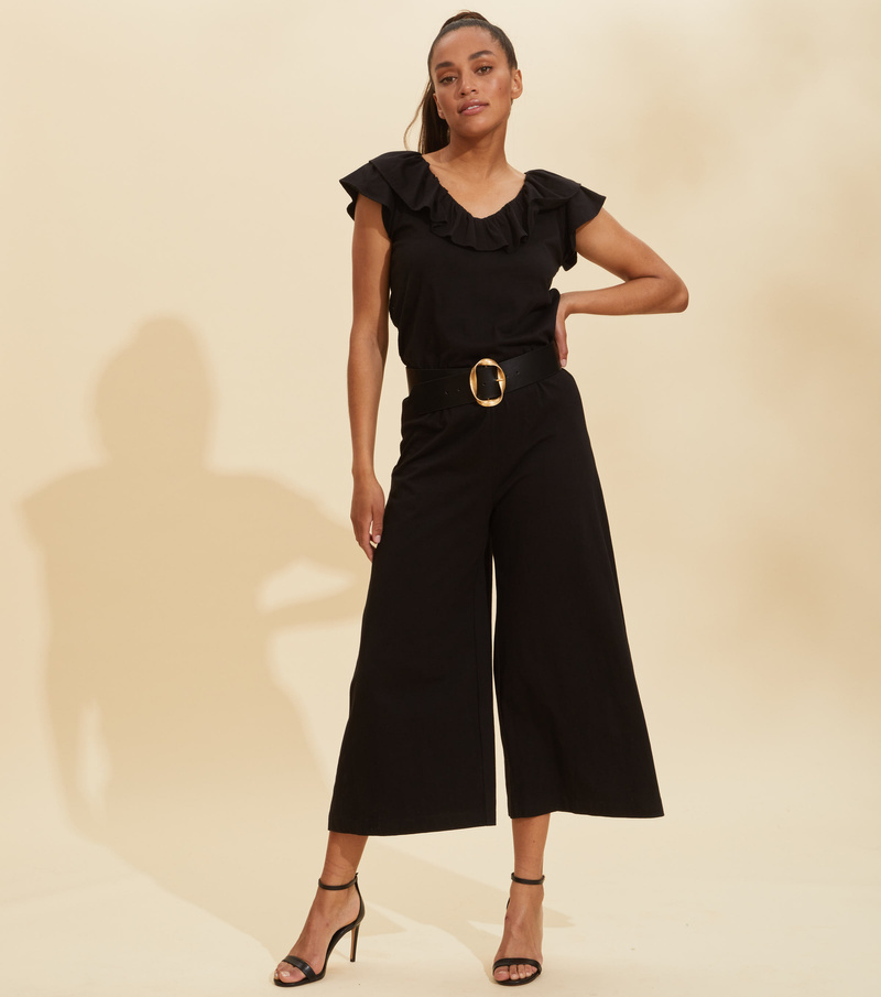 Frill Up Jumpsuit