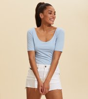 Odd Molly  - Odd Appealing Top - PEARL BLUE