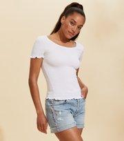 Odd Molly - Alluring Smock T-shirt - BRIGHT WHITE