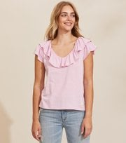 Odd Molly - Frill Up Top - PINK WHISPER