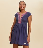 Odd Molly - Expressive Move Dress - STORMY BLUE