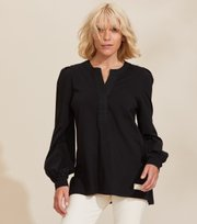 Odd Molly - Power Sleeve Top - ALMOST BLACK
