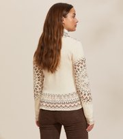 Odd Molly - Canna Cardigan - LIGHT PORCELAIN
