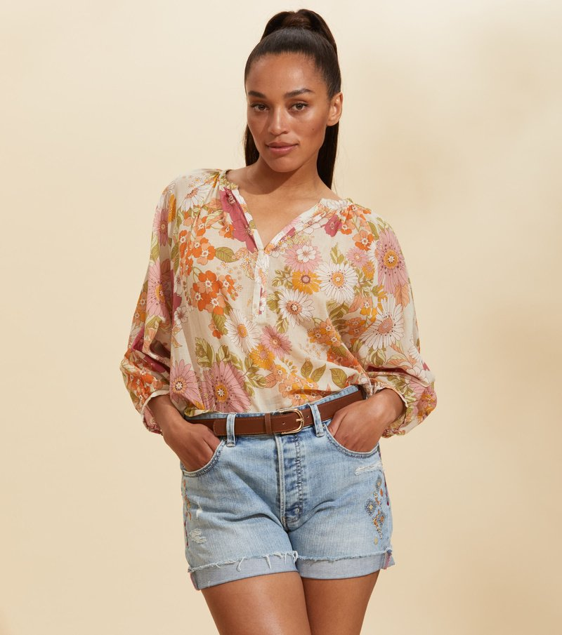 Run With The Sun Blouse