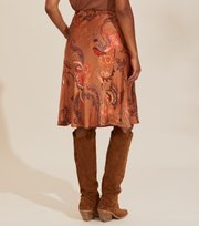 Odd Molly  - Still Smiling Skirt - COCONUT BROWN