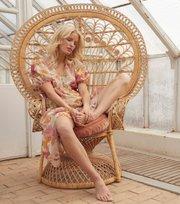 Odd Molly - Run With The Sun Long Dress - CACTUS FLOWER