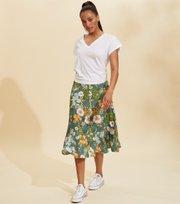 Odd Molly - Run With The Sun Skirt - BOTTLE GREEN