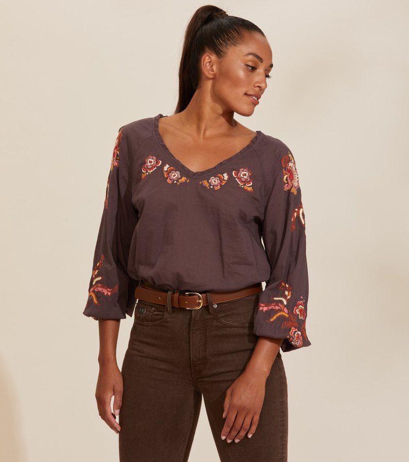 Free The Flower Blouse