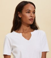 Odd Molly - Leia S/S Top - BRIGHT WHITE