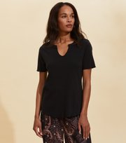 Odd Molly - Leia S/S Top - ALMOST BLACK