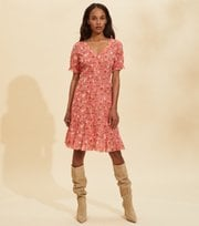 Odd Molly - Emily Dress - SPICED CORAL