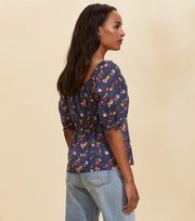 Odd Molly - Emily Blouse - DARK BLUE