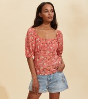 Odd Molly - Emily Bluse - SPICED CORAL