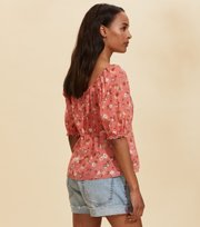 Odd Molly - Emily Blouse - SPICED CORAL