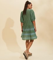 Odd Molly - Mariah Kleid - TROPICAL GREEN