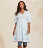 Odd Molly - Laura Dress - BLUE GLOW