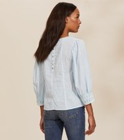 Odd Molly - Laura Blouse - BLUE GLOW