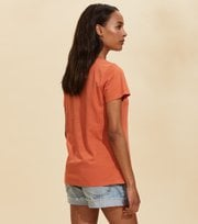 Odd Molly - Juliette S/S Top - BAKED EARTH
