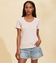 Odd Molly  - Juliette S/S Top - CHALK PINK