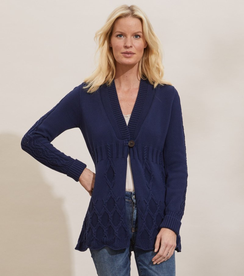 Alessandra Long Cardigan
