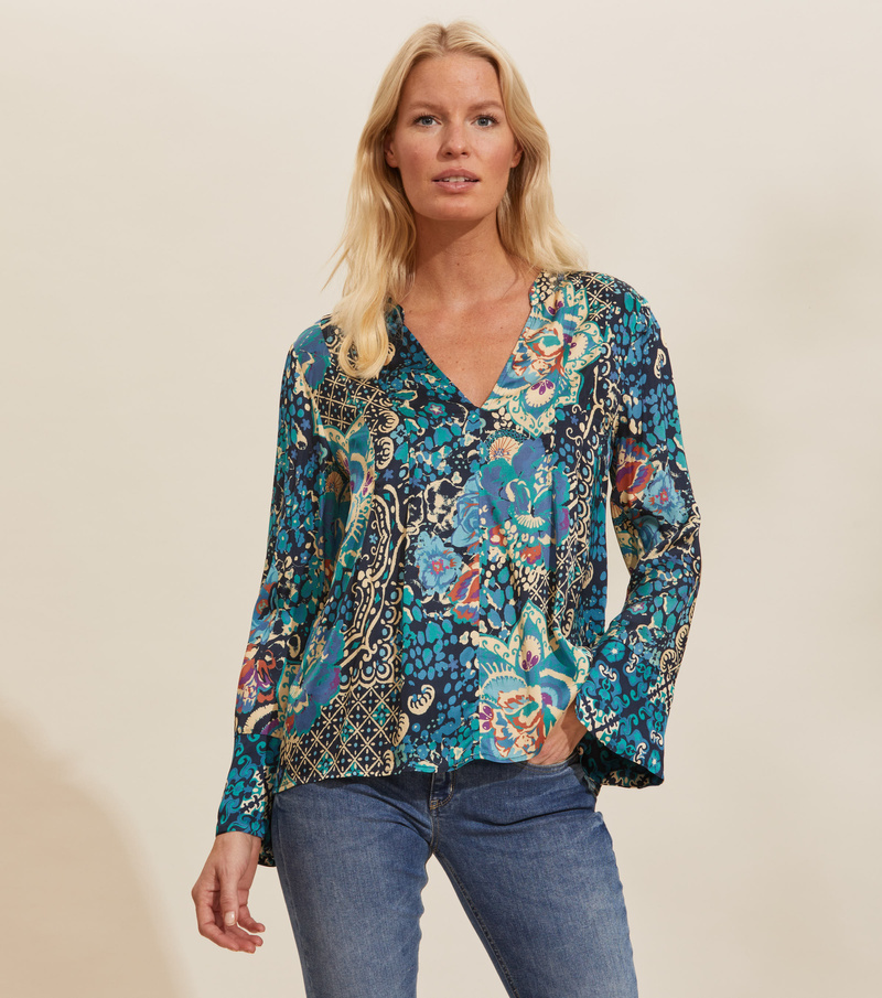 Georgine Long Blouse