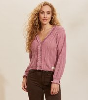 Odd Molly - Maureen Cardigan - FAIR PINK