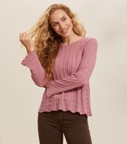 Odd Molly - Maureen Sweater - FAIR PINK