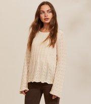 Odd Molly - Maureen Sweater - LIGHT PORCELAIN