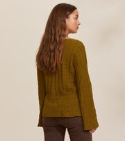 Odd Molly - Maureen Sweater - BURNED OLIVE