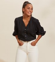 Odd Molly - Rachelle Blouse - ALMOST BLACK