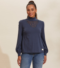 Camille Turtle L/S Top