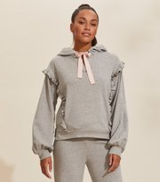 Odd Molly - Paulina Hood Sweater - LIGHT GREY MELANGE