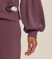 Odd Molly - Paulina Hood Sweater - MISTY GRAPE