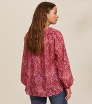 Odd Molly - Anna Printed Blouse - RED DESERT